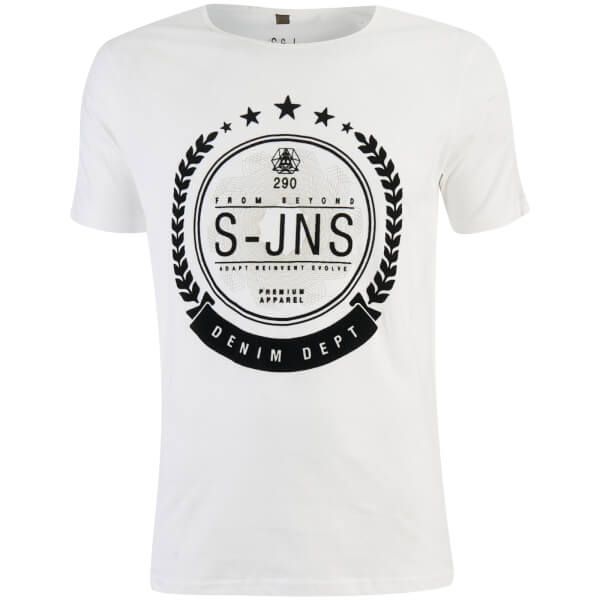 Smith & Jones Men's Hypoten T-Shirt - White
