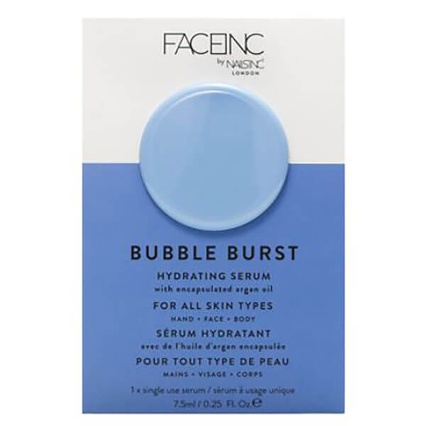 FACEINC by nails inc. Bubble and Squeak Brightening Oxygenated Pod Mask 7.5ml