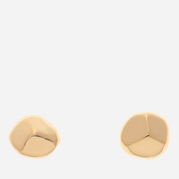 Missoma Women's Gold Nugget Studs - Gold