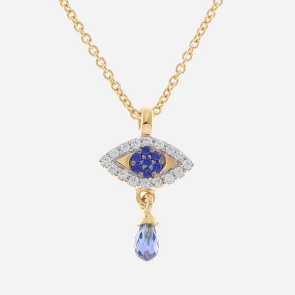 Missoma Women's Evil Eye Necklace - Gold