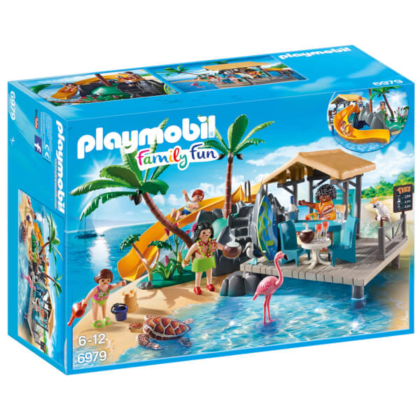 Ile avec vacanciers (6979) -Playmobil Family Fun