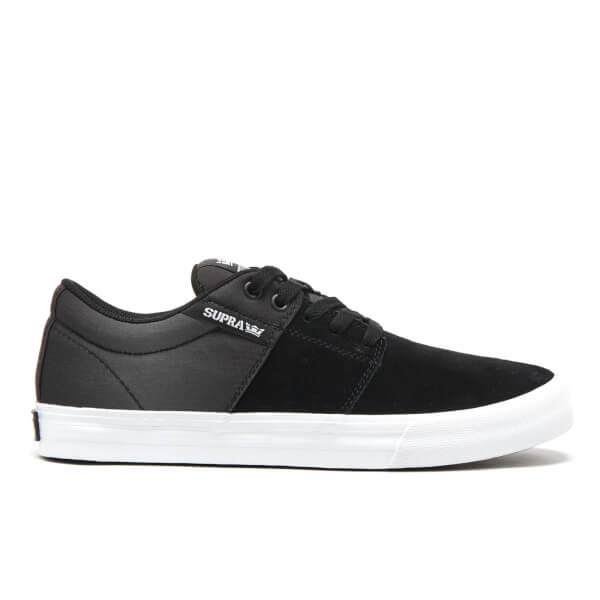 Supra Men's Stacks II Vulc Trainers - Black/White
