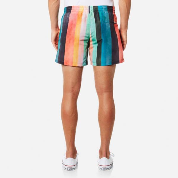 61fd507ccd Paul Smith Men's Classic Artist Stripe Swim Shorts - Multi: Image 2