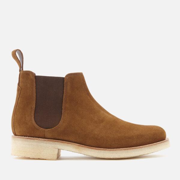Grenson Men's Hayden Suede Chelsea Boots - Snuff