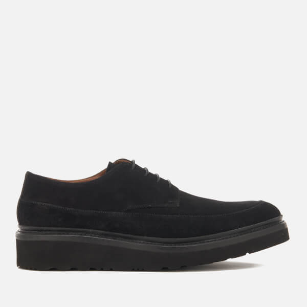 Grenson Men's Morgan Suede Creepers - Black