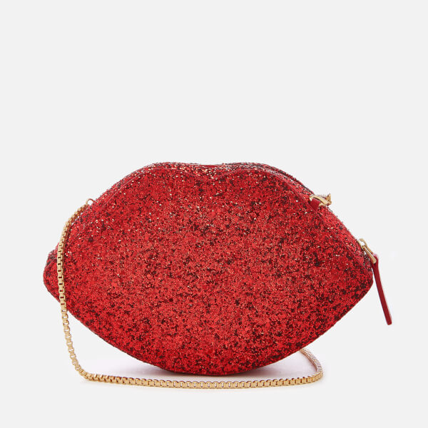 Lulu Guinness Women's Cupids Bow Coco Cross Body Bag - Red