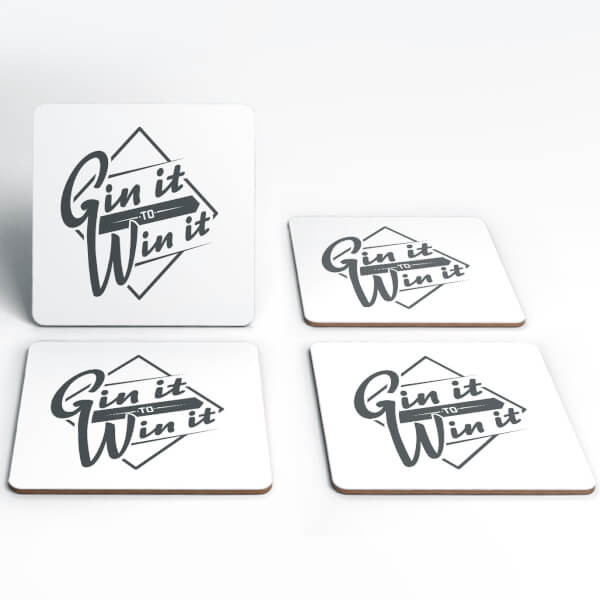 Gin It To Win It Coasters