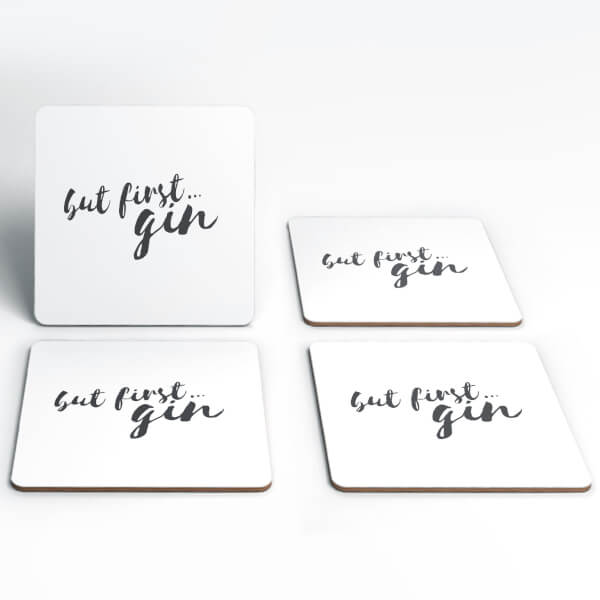 But First Gin Coasters