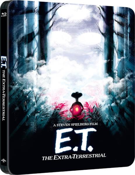 E.T. l'Extra-terrestre (30ème Anniversaire)- Steelbook Exclusif Limité pour Zavvi