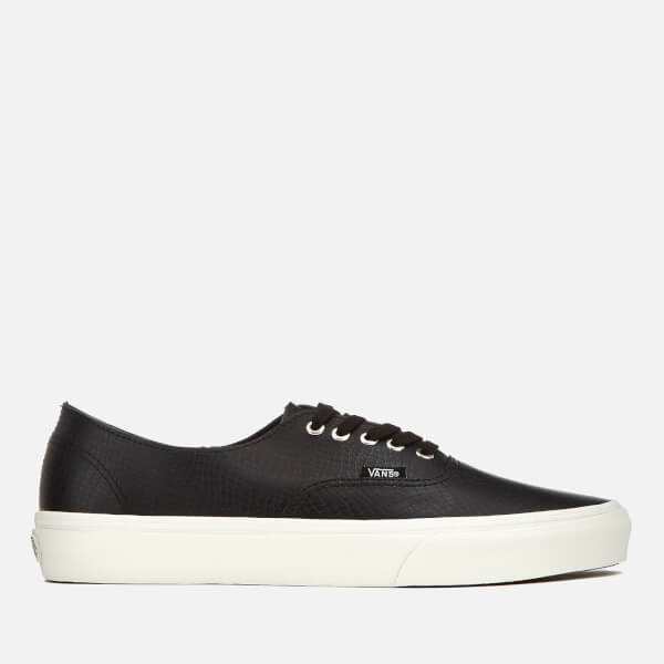Vans Men's Authentic Decon Snake Trainers - Black/Blanc