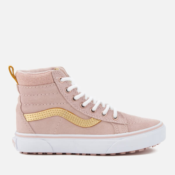 f045b34f4e Vans Kids  Sk8-Hi Mte Hi-Top Trainers - Sepia Rose Metallic