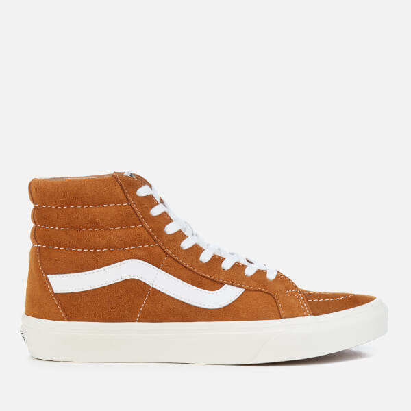 VANS SK8HI REISSUE RETRO SPORT GLAZED GINGER TRAINERS