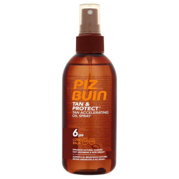 Piz Buin Tan & Protect Tan Accelerating Oil Spray SPF6 150ml