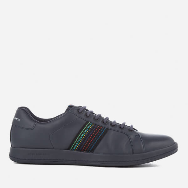 PS by Paul Smith Men's Lapin Leather Cupsole Trainers - Dark Navy