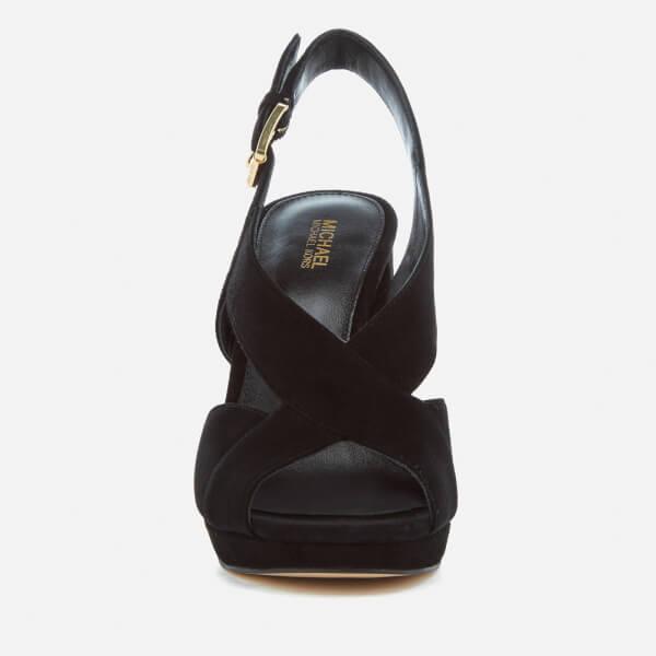 9b8a17413d3 MICHAEL MICHAEL KORS Women s Becky Platform Sandals - Black  Image 3