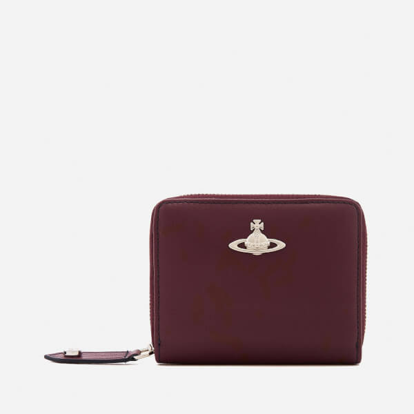 f4f80ab505e Vivienne Westwood Women's Cambridge Small Zip Around Wallet - Bordeaux:  Image 1