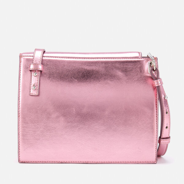 Vivienne Westwood Women S Venice Metallic Cross Body Bag Pink Image 2