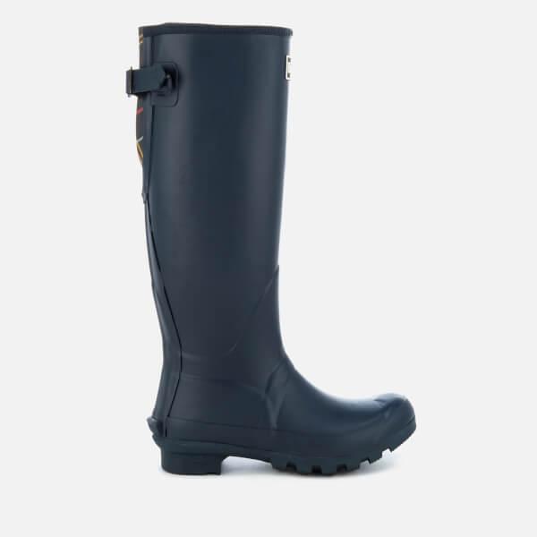Barbour Women's Jarrow Adjustable Tall Wellies - Navy