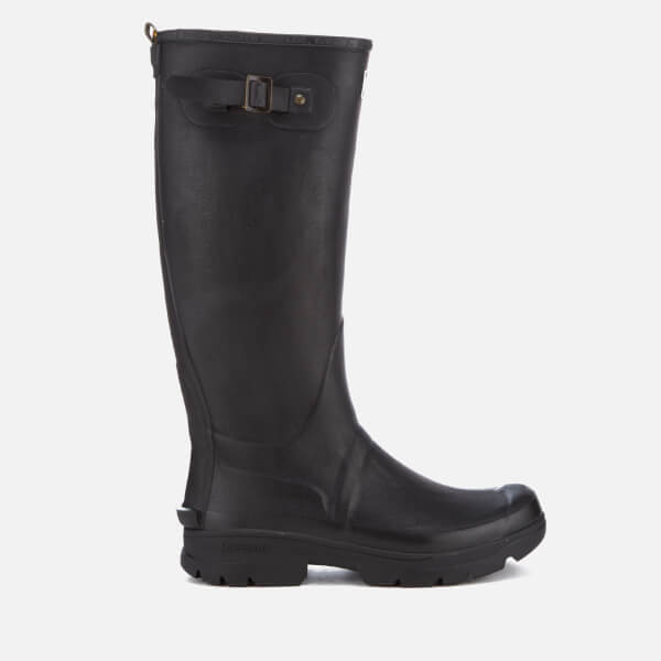 Barbour Men's Griffon Adjustable Tall Wellies - Black