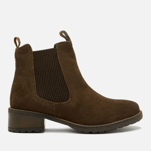 Barbour Women's Latimer Waxy Suede Chelsea Boots - Brown