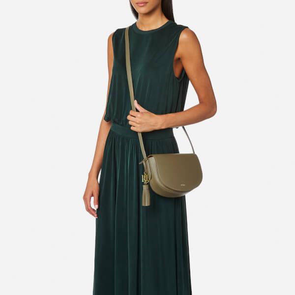 a9d058e066 Lauren Ralph Lauren Women s Dryden Caley Mini Cross Body Bag -  Sage Caramel  Image