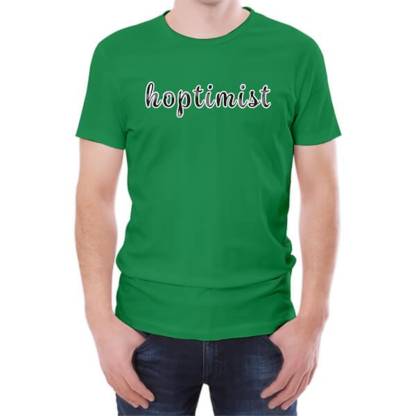 T-Shirt Homme Hoptimist -Vert