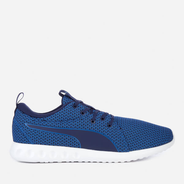 dbcd56553d0 Puma Men s Carson 2 Knit Running Trainers - Lapis Blue Blue Depths  Image 1