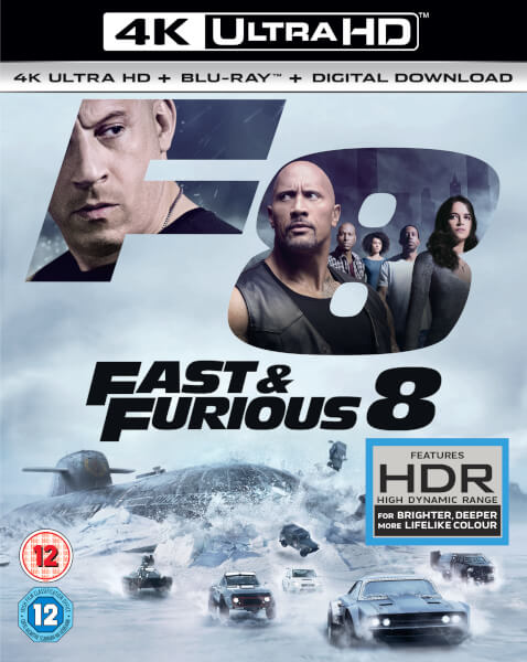Fast & Furious 8 - 4K Ultra HD (Includes 2D Version + Digital Download)