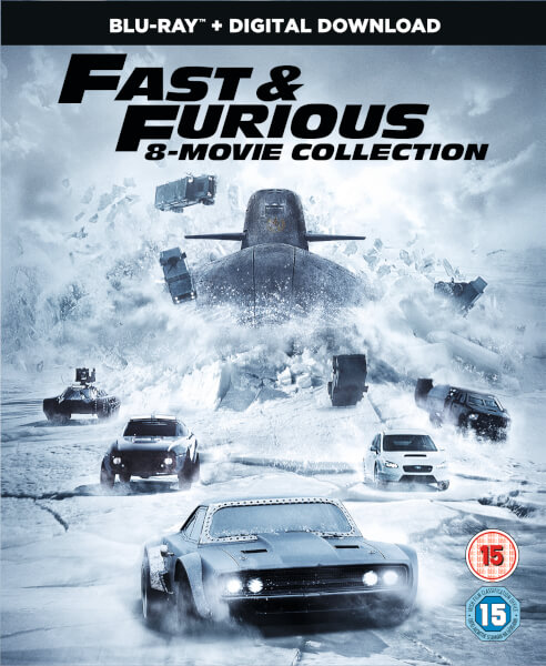 Fast Amp Furious 8 Film Collection Digital Download Blu