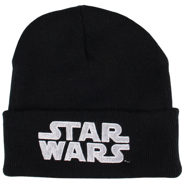 Bonnet Logo Star Wars -Noir