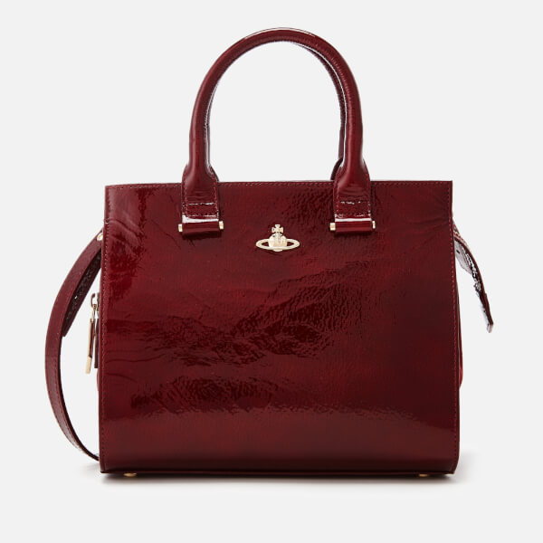 Vivienne Westwood Women's Margate Top Handle Tote Bag - Bordeaux