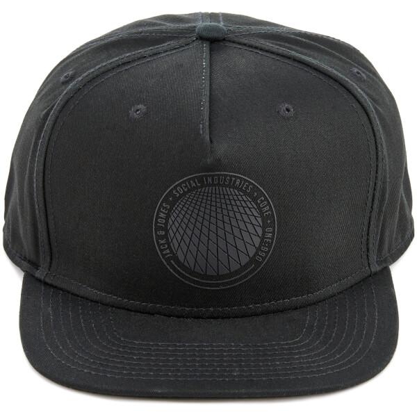 Jack & Jones Men's Core Keen Snapback Cap - Black