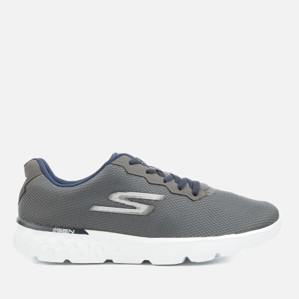 Skechers Men's Go Run 400 Trainers - Charcoal/Navy