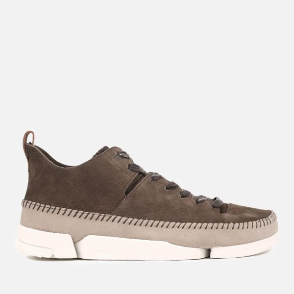 Clarks Originals Mens Trigenic Flex Shoes  Peat Nubuck