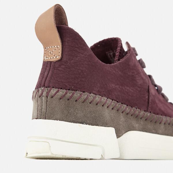 buy popular c5963 8cd69 Clarks Originals Women s Trigenic Flex Shoes - Burgundy Nubuck  Image 6