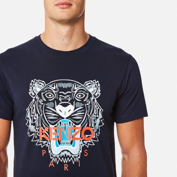 Black Kenzo Tiger T Shirt