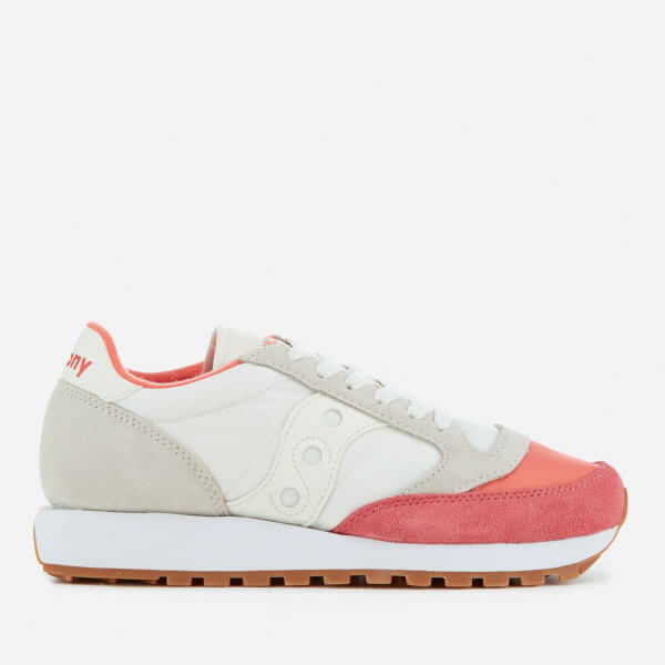 Saucony Women s Jazz Original Trainers - Coral Cream  Image 1 a261b23862