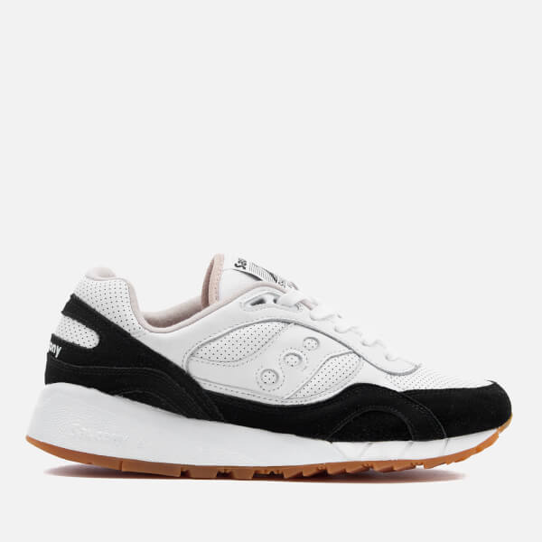 Saucony Men's Premium Shadow 6000 HT/Perf Trainers - White/Black