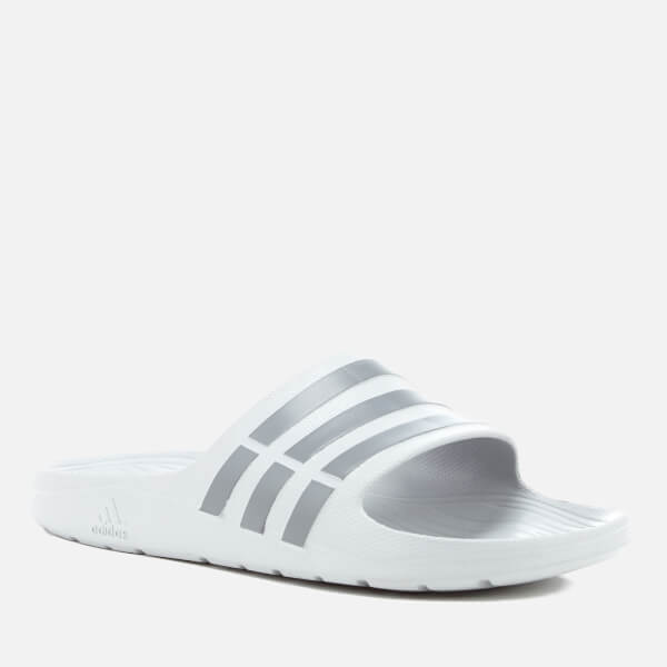3f3be818a2e9f7 adidas Men s Duramo Slide Sandals - Clear Onix Sports   Leisure ...