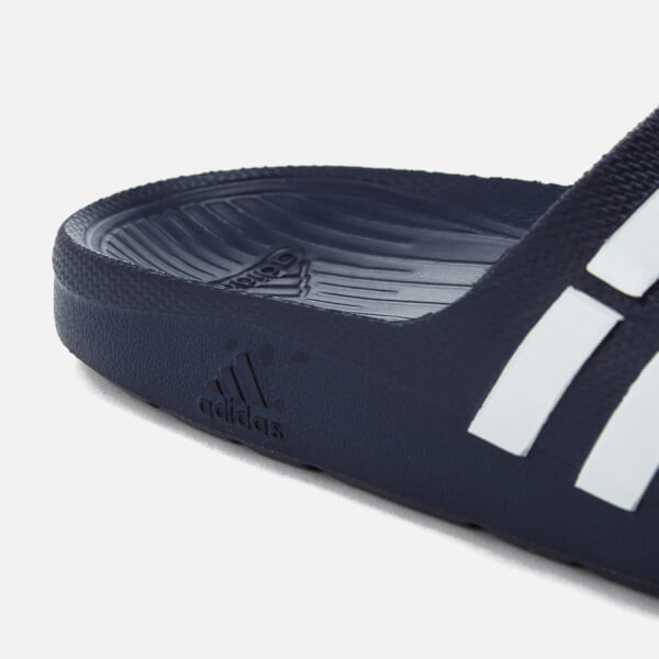 e9a1cbbdb3f07 adidas Duramo Slide Sandals - Dark Blue Sports   Leisure