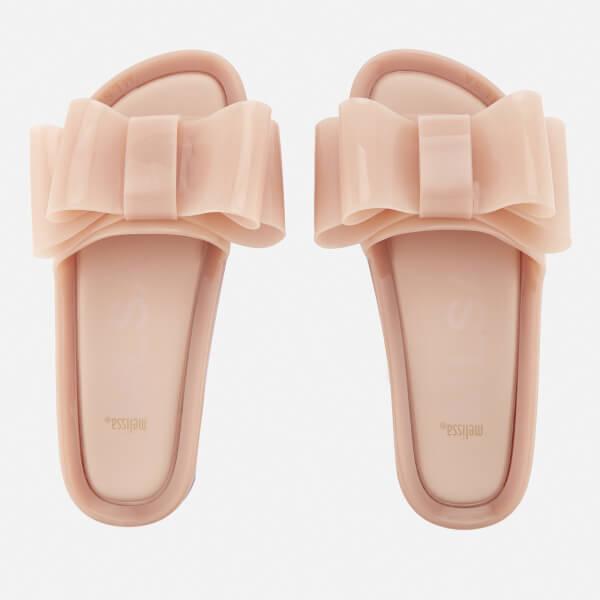 846c986dd8aef Melissa Women s Beach Slide Bow 18 Sandals - Nude Womens Footwear ...