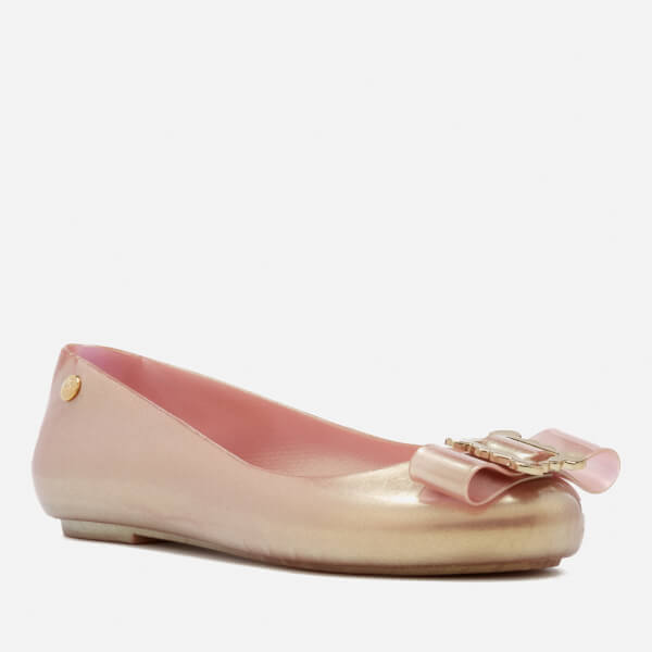 Space Love Flat Ballerina - Rose gold buckle Vivienne Westwood BWzJY