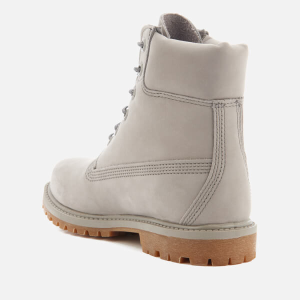 Timberland Women s 6 Inch Premium Leather Boots - Steeple Grey Waterbuck  Monochromatic  Image 4 623cddf27