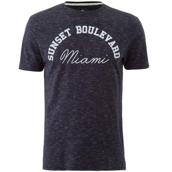 Threadbare Men's Burbank T-Shirt - Navy Marl
