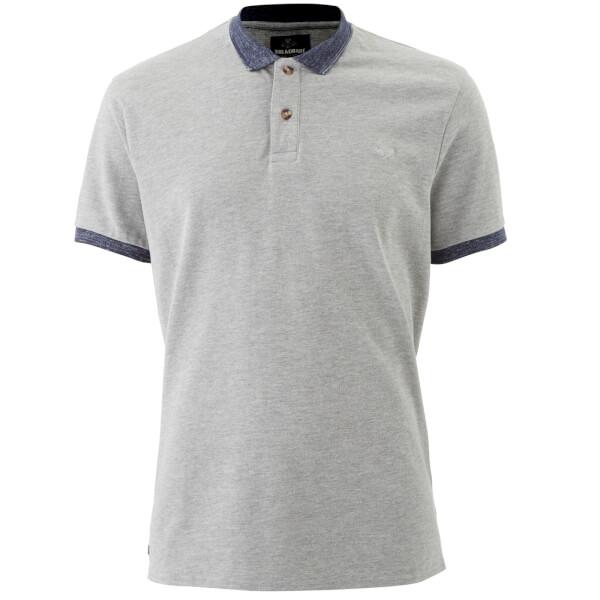 Threadbare Men's Compton Polo Shirt - Grey