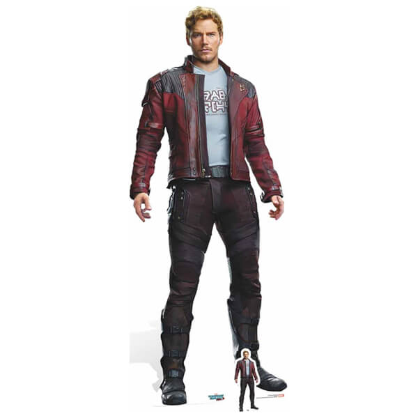 Guardians of the Galaxy Volume 2 Peter Quill Cardboard Cut Out - Life Size