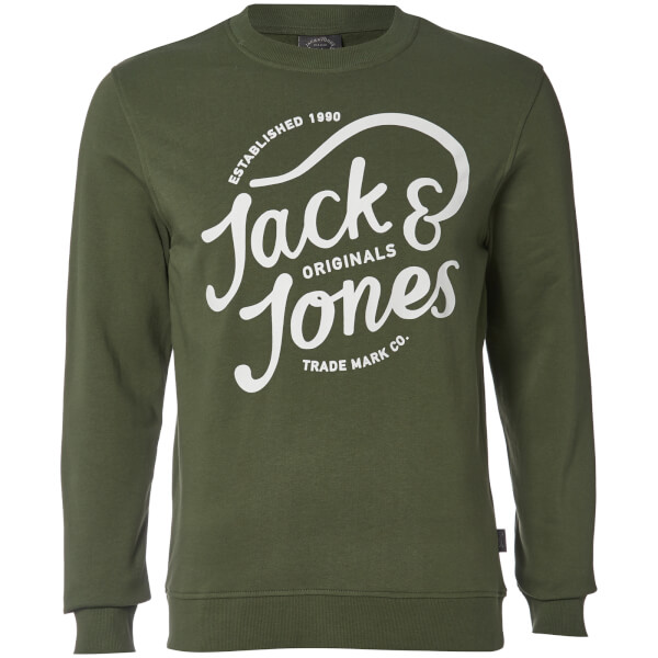 Jack & Jones Men's Originals Carry Sweatshirt - Thyme