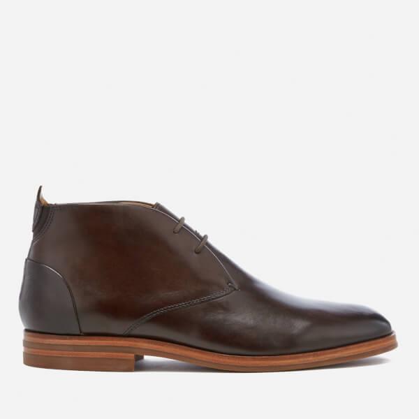 878999b2fbbe7 Hudson London Men s Matteo Leather Desert Boots - Brown Mens ...