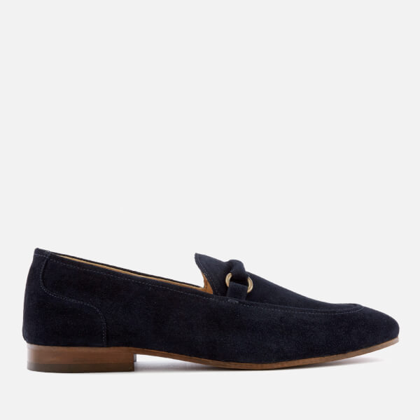 Hudson London Men's Renzo Suede Loafers - Navy