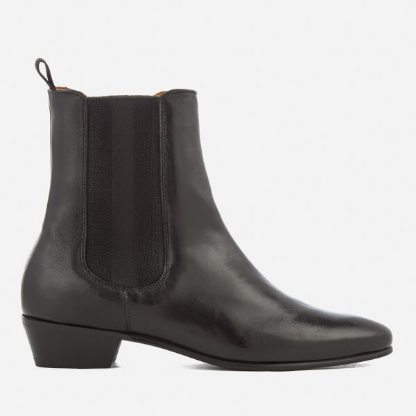 Hudson London Women's Kenny Leather Chelsea Boots - Black